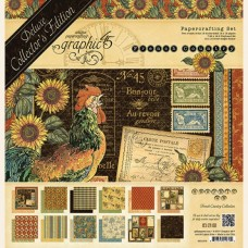 Graphic 45 A French Country - Deluxe Collector's Edition