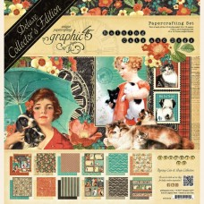 Graphic 45 Raining Cats & Dogs - Deluxe Collector's Edition