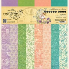 Graphic 45 Fairie Dust 12x12 Patterns & Solids Pad