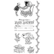 Graphic 45 Rubber Cling Stamp Set - Precious Memories 2