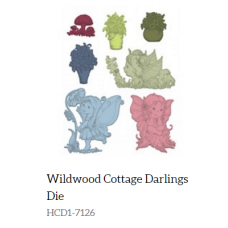 Heartfelt Creations Wildwood Cottage Darlings Die HCD1-7126