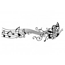 Nini's Things Butterfly Music Strip