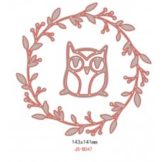 Nini's Things Owl & Wreath
