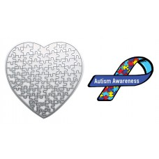Autism Awareness Heart Puzzle Die Portion of sales will be donated to Children's Autism Foundation