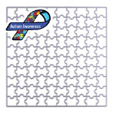 Autism Awareness Square Puzzle Die Portion of sales will be donated to Children's Autism Foundation