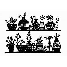 Nini's Things Row of Vases