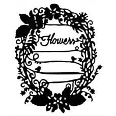 Nini's Things Flower Journal Tag Die