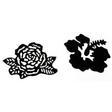 Nini's Things Rose & Hibiscus Die Set