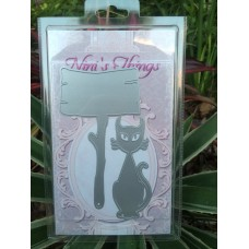 Halloween Spooky Cat Sign Die Set