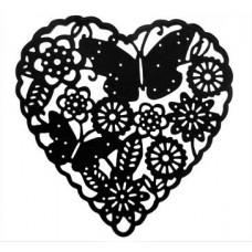 Nini's Things Butterfly Heart Die