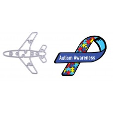Autism Awareness Plane Puzzle Die Portion of sales will be donated to Children's Autism Foundation