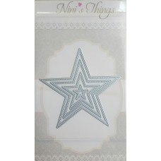 Nini's Things Nesting Stitched Stars Die Set