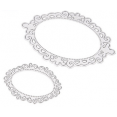 Nini's Things Oval Frame Dies