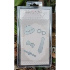 Nini's Things Tie & Bow Accessories Die Set