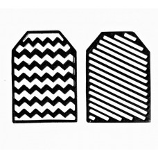 NIni's Things zigzag & stripe tags