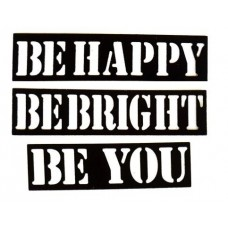 Nini's Things Be Happy Be Bright Be You Die Set
