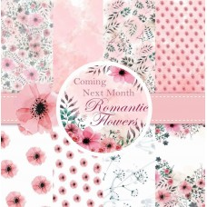 End of Financial Year Sale Nini's Things Paper Kit - Romantic Flowers - Physical Copy + FREE FLOWER DIE