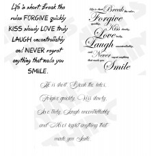 Nini's Things Downloadable Sentiments - Life is Short