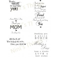 Nini's Things Downloadable Sentiments - Mother's Day