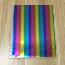 Nini's Things Hot Foil Sheets Rainbow - 50pk A4