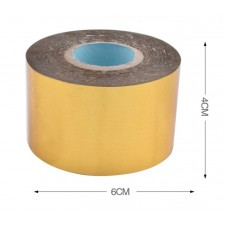 Nini's Things Heat Foil - Gold Roll - 120m