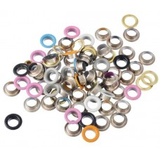 Nini's Things Eyelets - 100 pcs 10mm Rainbow