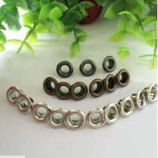 Nini's Things Eyelets - 100 pcs 10mm Silver