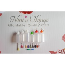 Nini's Things Fine Tip Glue Bottles