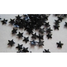 Nini's Things Bag of 1000 Black 3mm Stars