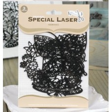 Flocked Mask Stencil - Cake