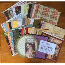 12x12 Value Designer Pack 50 Sheets RRP $50-$100