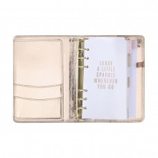Rose Gold Planner With Inserts & Accessories