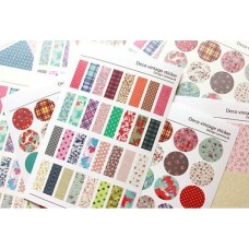 Planner Stickers - Deco Vintage 6 sheets