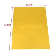 Nini's Things Hot Foil Sheets Gold - 50pk A4