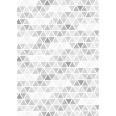 Nini's Things Printed Design You Choose the Medium - A4 Sheet - Triangles