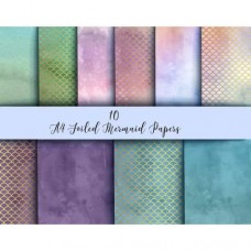 Nini's Things Paper Kit - Foiled Mermaid Scales