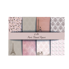 End of Financial Year Sale Nini's Things Paper Kit - Vintage Paris + FREE VINTAGE LADY DIE SET