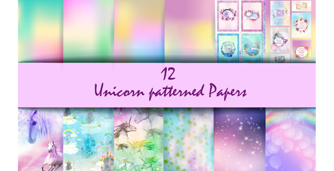 Nini's Things Paper Kit - Unicorn - Physical Copy