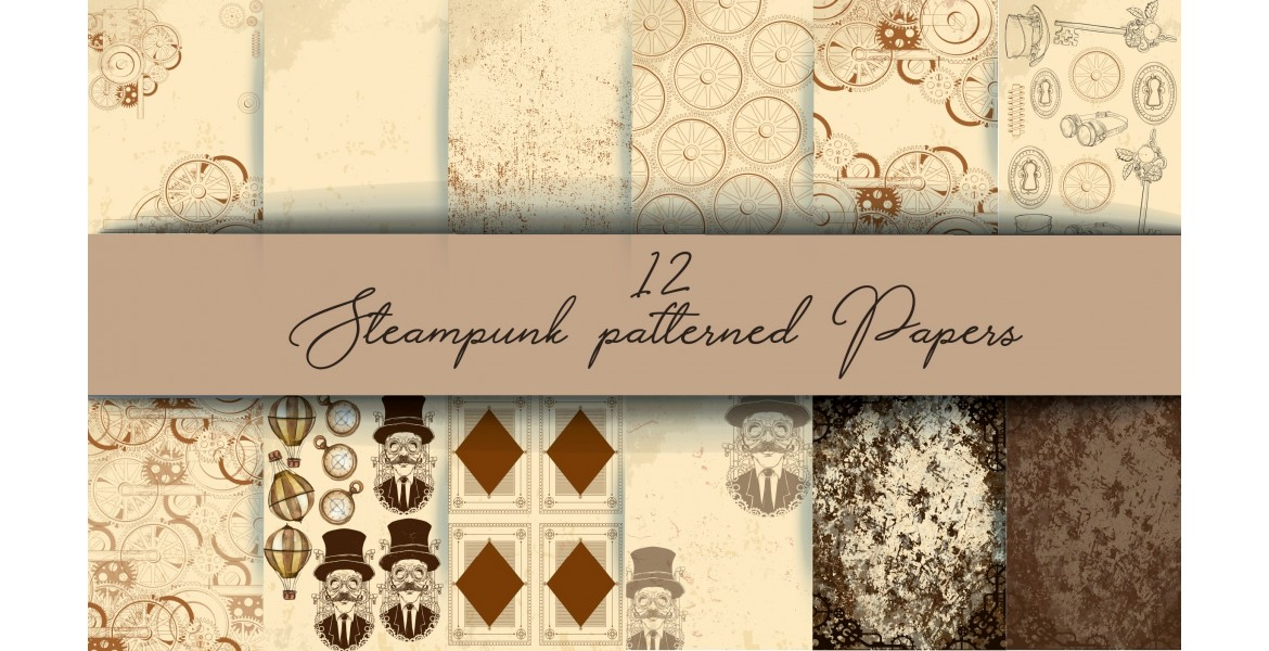 Nini's Things Paper Kit - Steampunk