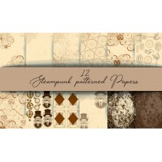 End of Financial Year Sale Nini's Things Paper Kit - Steampunk + FREE GEAR DIE