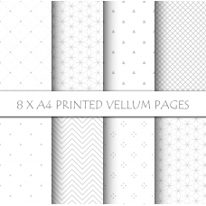Nini's Things Vellum Kit - Simple patterns