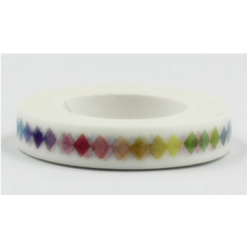 Washi Tapes - Coloured Diamonds