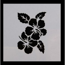 Nini's Things Stencil - Hibiscus