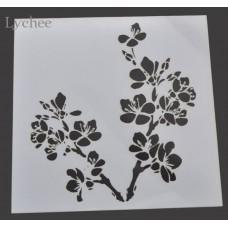Nini's Things Stencil - Sakura Flower