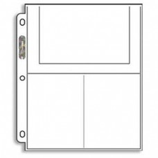 "10x Storage Pocket Sheets 3 pockets 4x6"""