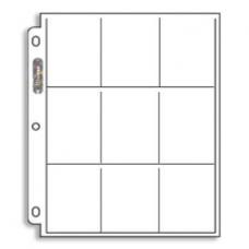 10x Storage Pocket Sheets
