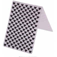 Nini's Things Embossing Folder - Small Hearts