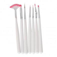 Set of 7 Fine Tip Brushes